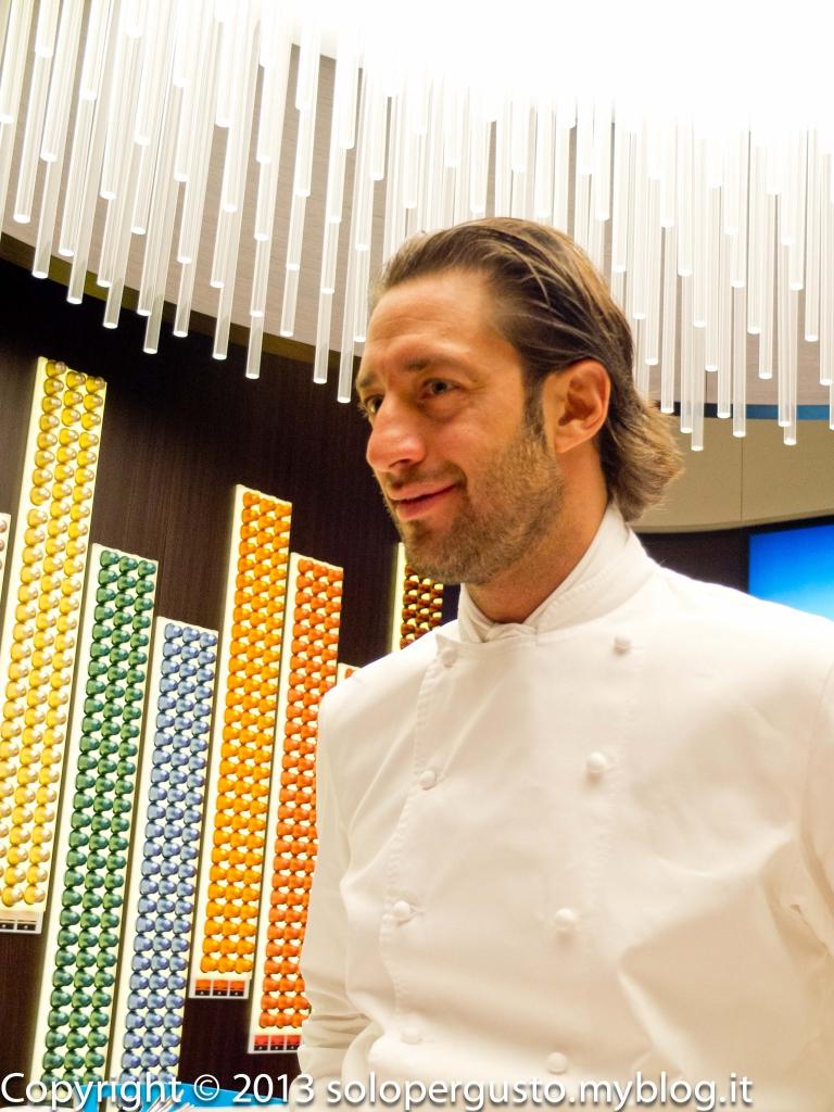 Metti una serata a roma presentazione dei caff kazaar e for Luigi taglienti chef
