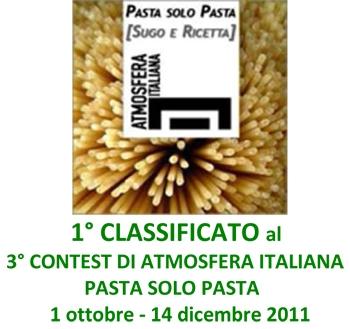 contest atmofera italiana,pasta solo pasta,cacio e pepe,solopergusto