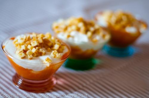 coppette di yogurt,cucina dietetica,merenda,pranzo dietetico