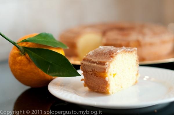Siccome che sono fanatica: ciambella dietetica al profumo d'arancia