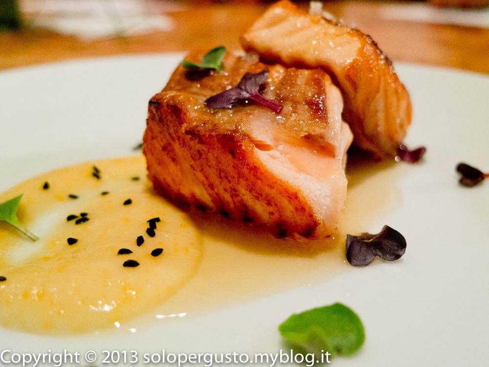 The Traveller Chef a Roma e la ricetta spifferata del salmone afrodisiaco.