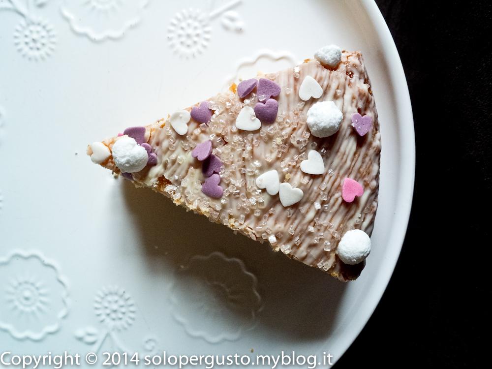 Dell'ennesima versione della torta sette vasetti: amarena cocco e yogurt