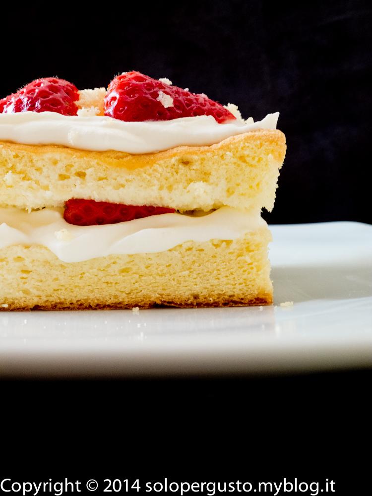 Cake pride: pan di Spagna ripieno di ganache al cioccolato bianco. Più torte per tutti #Rightsaddict