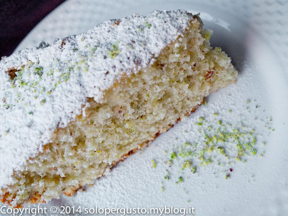 Io la fo profumata: torta panna e pistacchio