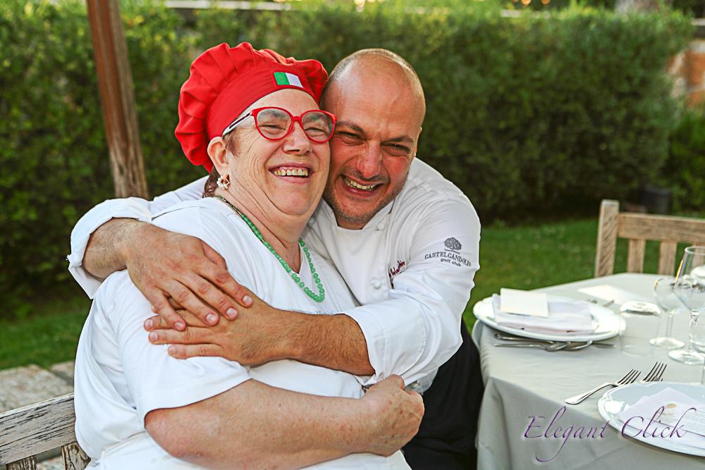 Il paradiso dietro casa mia: cena a quattro mani all'Aqua Mater di Castel Gandolfo