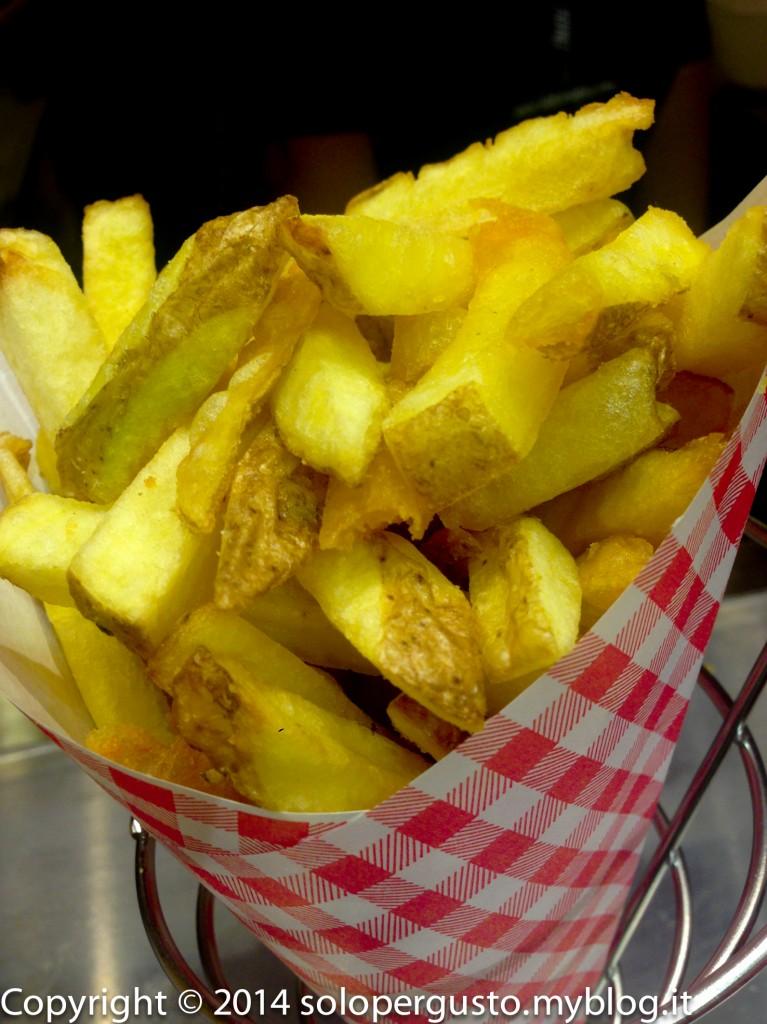 Fries apre a Roma: patate fritte a volontà