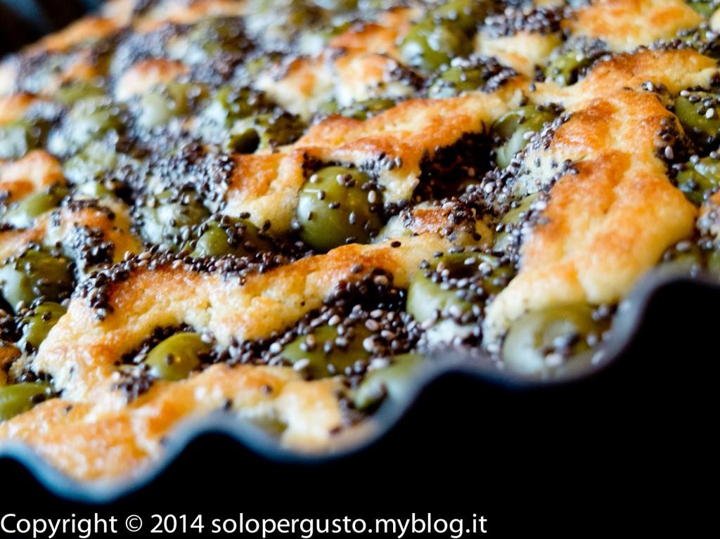 [Ricetta] Torta rustica olive verdi e semi di Chia