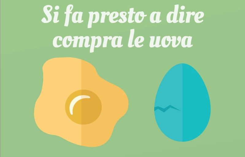Perché compro le uova bio