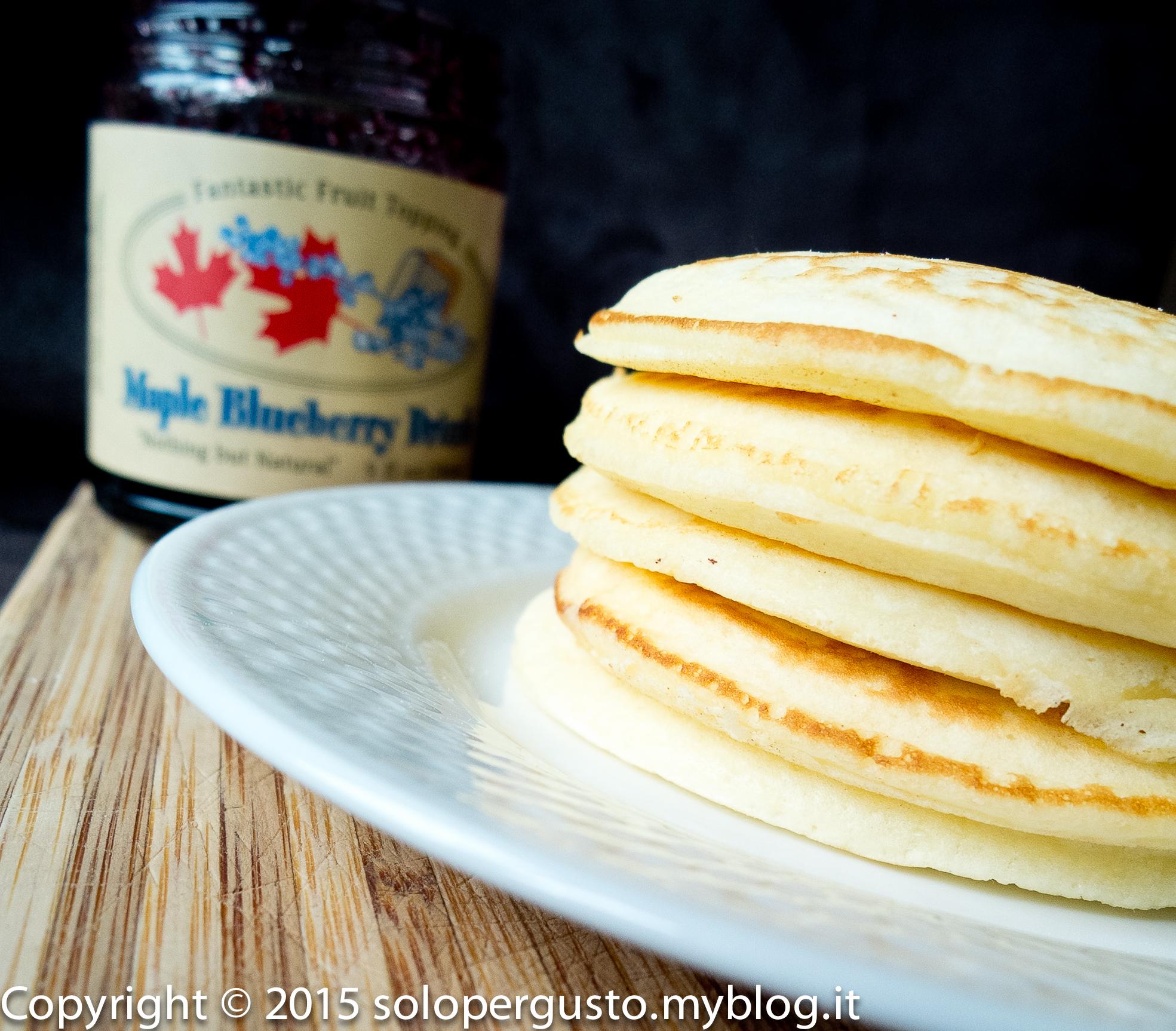 Pancakes soffici e leggeri