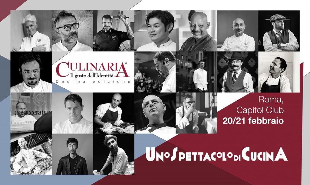 20 e 21 febbraio: Culinaria a Roma