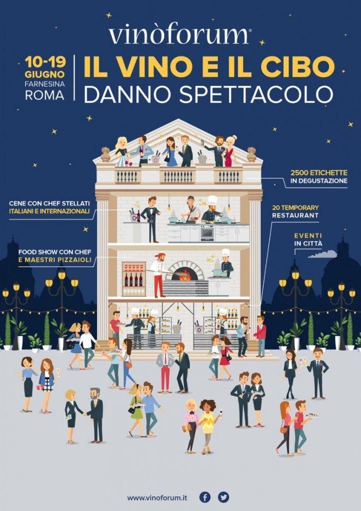 Vinoforum 2016: 10-16 giugno a Roma
