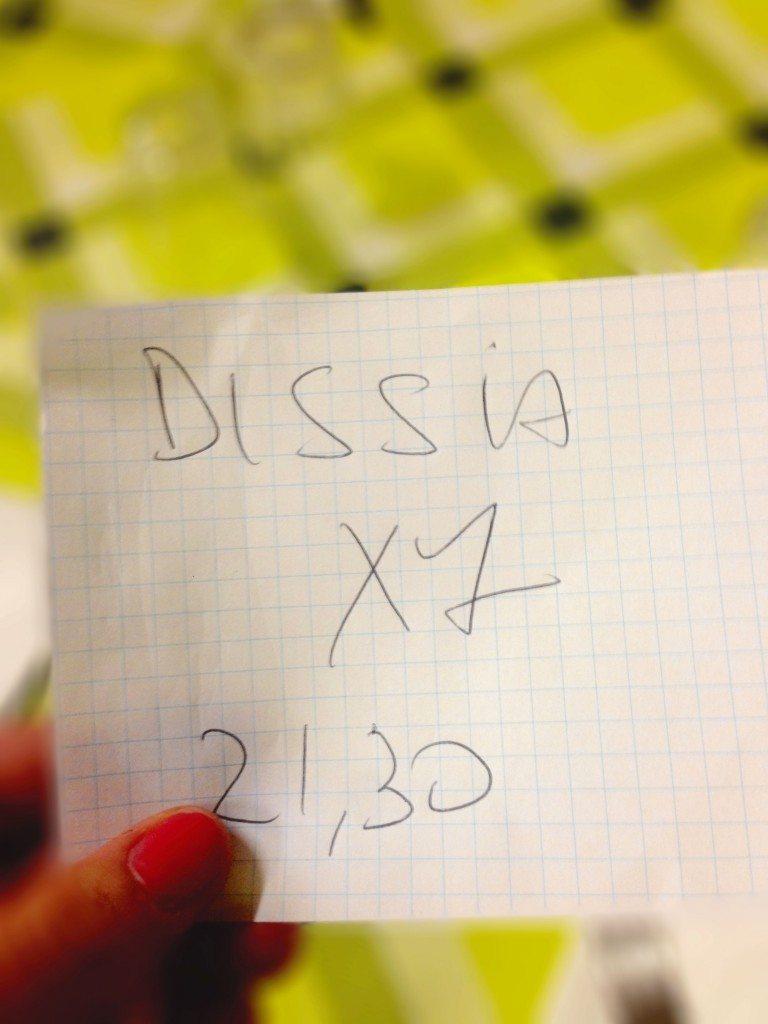 Dissia